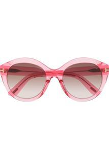 R  2343,00. Farfetch Tom Ford Eyewear Óculos De Sol ... cdfed285f9