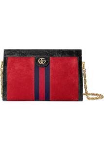 Gucci Bolsa Tiracolo 'Ophidia' Pequena - Vermelho