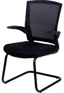 Cadeira Office Swift- Preta- 90,5X60X48Cm- Or Deor Design