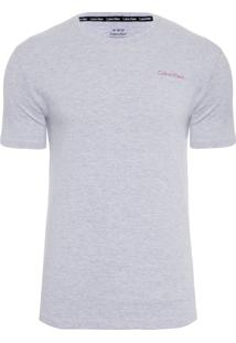 Camiseta Masculina Pro Red - Cinza