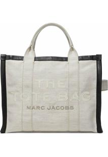 Marc Jacobs Bolsa Tote Com Logo - Branco