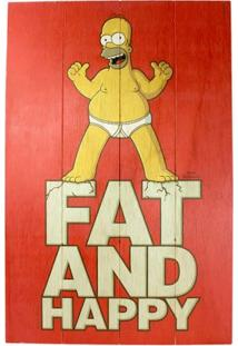 Quadro Homer Fat And Happy