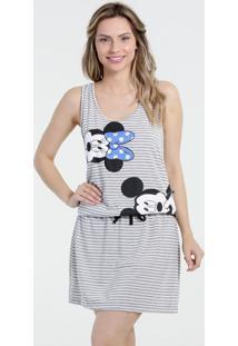 Camisola Feminina Nadador Estampa Mickey Disney