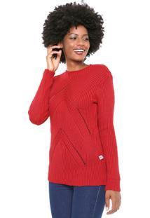 Suéter Mercatto Tricot Color Vermelho