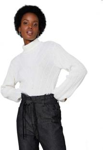 Suéter Tricot Chevron