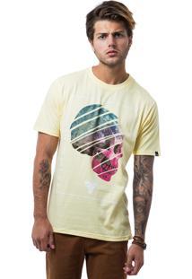 Camiseta Fallen Upset Mind Amarelo
