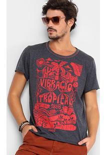 Camiseta Coca-Cola Tropical Masculina - Masculino