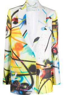 Off-White Jaqueta Futura Branca - Branco
