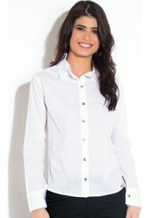 f20db61847 Camisa Elastano Quintess feminina
