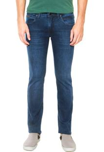 Calça Jeans Calvin Klein Jeans Classic Slim Azul