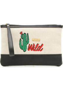 Nécessaire Santa Lolla Wild Bege/Preta