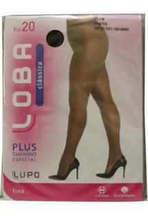 Meia Calça Lupo Plus X Plus Fio 20 Classica
