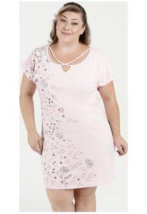 Camisola Feminina Estampa Floral Plus Size Marisa
