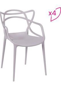 Jogo De Cadeiras De Jantar Solna- Fendi- 4Pã§S- Oor Design