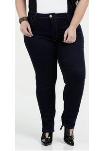 ce4eb58ca Marisa. Calça Feminina Jeans Skinny Plus Size Biotipo Azul