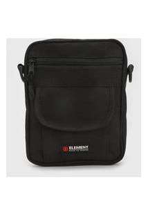 Bolsa Element Shoulder Bag Road Trip Preta