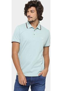 Camisa Polo Triton Piquet Frisos Color Masculina - Masculino