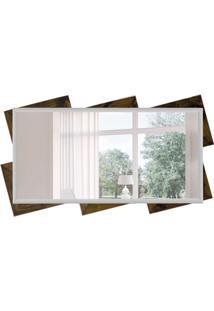 Espelho Decorativo Trento 65X115 Cm Marrom