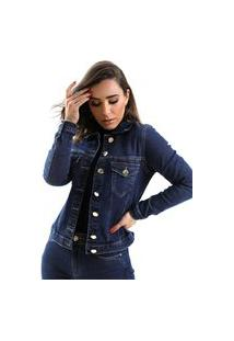 Jaqueta Zaiz Jeans Slim Indigo Médio
