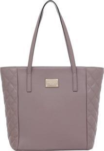 3ab69df39 ... Bolsa Smart Bag Couro Tiracolo - Feminino-Marrom