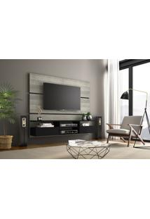 Painel Tv Nt1015 Notável 1580 Mm 2 Portas Carv