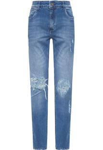 Calça Masculina Skinny Viena - Azul