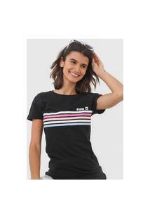 Camiseta Hang Loose Sun Collors Preta