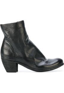 Officine Creative Ankle Boot De Couro 'Chabrol' - Preto