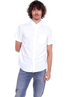 Camisa Levis Sunset Classic One Pocket Branco Branco