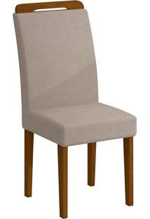 Cadeira Athenas - Rufato - Imbuia / Creme
