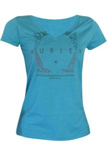 Camiseta The Goods Are Gone Hurley - Feminino-Azul
