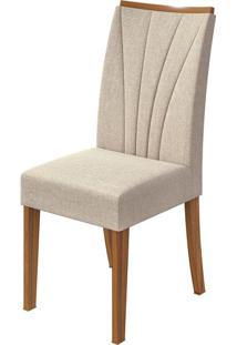 Cadeira Apogeu Linho Rinzai Bege Rovere Naturale