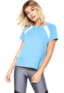 Camiseta Memo Recortes Azul