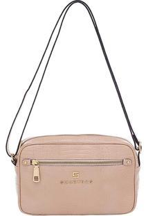 Bolsa Smartbag Transversal - Feminino-Bege