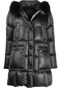 Moorer Combined Puffer Jacket - Cinza