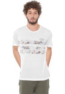 Camiseta Rip Curl Resort Off-White