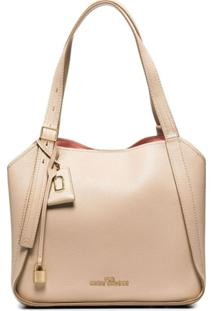 Marc Jacobs The Diretor Leather Shoulder Bag - Neutro