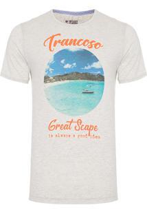 Camiseta Masculina Great Scape - Cinza