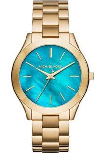 Relógio Michael Kors Mk3492/4Vn - Feminino-Dourado
