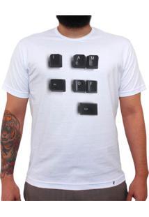 Alt Of Ctrl - Camiseta Clássica Masculina