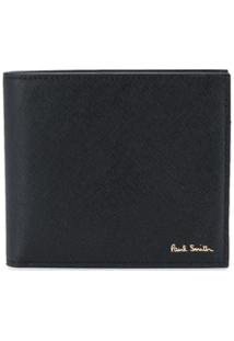 Paul Smith Carteira Com Estampa Gráfica - Preto