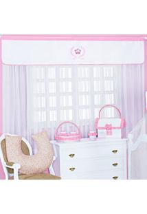 Cortina Para Quarto De Bebê Imperialle Rosa