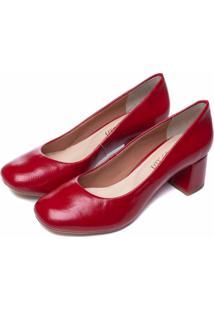 Scarpin Torricella Vermelho - Vermelho - Feminino - Dafiti