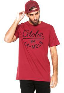 Camiseta Globe Trade Vinho