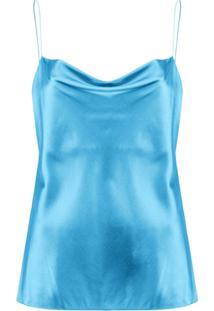 Dorothee Schumacher Sense Of Shine Camisole Top - Azul