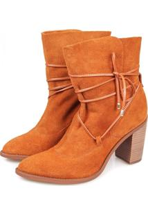 Ankle Boot Agatha Terre Caramelo