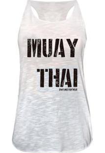 Camiseta Regata Muay Thai Spartanus Fightwear Feminina - Feminino