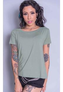 Camiseta Camarim 82 Básica Verde