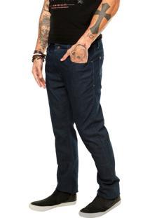 Calça Jeans Timberland Slim Básica Azul
