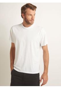 Camiseta Rosa Chá Romenia I Malha Branco Masculina (Branco, P)